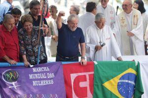 O ex-presidente Lula foi preso no último sábado (7)