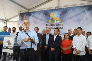 Entrega de 280 unidades do Programa Minha Casa Minha Vida, Casa Paulista em São Vicente