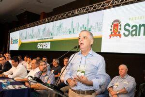 Márcio França participou do encerramento do 62º Congresso Estadual de Municípios, no Mendes Convention Center