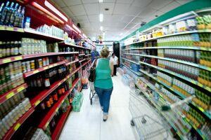 Em fevereiro, o setor de supermercados registrou alta de 0,22%