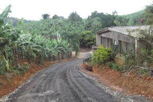 Estrada da Vista Grande, em Miracatu, onde o casal foi encontrado.