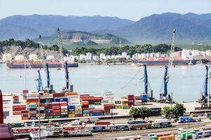Segundo a Codesp, o primeiro trimestre de 2018 registrou a movimentação de 30,91 milhões de toneladas no porto