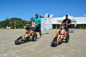 A intenção é levar atividades esportivas para as crianças com deficiência física e intelectual, como forma de inclusão social
