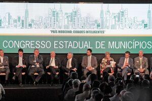 Temer destacou o papel de fortalecimento dos municípios, antes de anunciar a liberação dos recursos