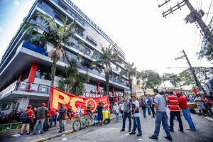 Lula buscou abrigo no prédio do Sindicato dos Metalúrgicos do ABC