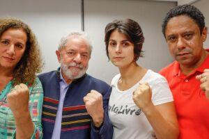 Lula agradece solidariedade popular no Sindicato dos Metalúrgicos do ABC
