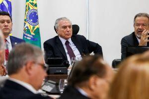 A declaração de Temer foi feita durante evento no Palácio do Planalto