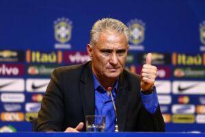 O técnico Tite vai anunciar os nomes dos 23 selecionados para a disputa da Copa do Mundo da Rússia no dia 14 de maio -data limite estabelecida pela Fifa