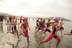 A primeira etapa do 28ª Troféu Brasil de Triathlon será realizada no domingo (8)