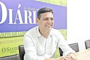 Sérgio Santana (PR) é policial reformado, diretor regional da Associação de Cabos e Soldados do Estado de São Paulo e vereador em Santos