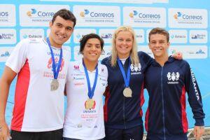 A competição marcou a estreia da dupla Ana Marcela, tricampeã mundial de maratona aquática, e da campeã olímpica Rio 2016, Sharon juntas na mesma equip