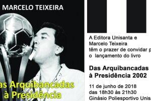 Marcelo Teixeira conta muitas histórias até então inéditas e desconhecidas.