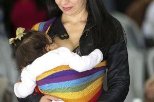 A nutricionista Maria Rosa Rodrigues, 32 anos, é mãe do Leonardo, de 4 anos, e da Beatriz, de 1 ano e 11 meses