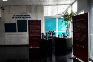 O Hospital Municipal de Cubatão expõe as obras de Leandro Galvani
