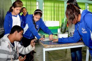 O projeto de robótica é fruto do Programa Aprendizado do Futuro realizado pela Secretaria de Educação, Cultura e Esportes