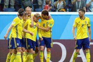 A Suécia não chegava às quartas de final desde 1994, quando foi à semi e perdeu para o Brasil