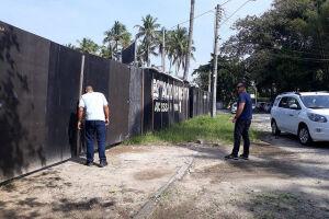 Vigilância Sanitária notifica nove estacionamentos de carrinhos por irregularidades
