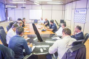 O encontro aconteceu na última quarta-feira (25), no Paço Municipal