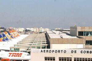 Aeroporto de Congonhas, SP.