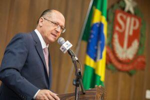 Alckmin foi recebido com gritos de o próximo presidente do Brasil em evento nesta sexta-feira (20) em um hotel em São Paulo