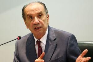 Representando o Brasil está o ministro das Relações Exteriores, Aloysio Nunes Ferreira
