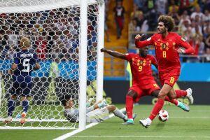 Fellaini marcou o gol de empate da Bélgica