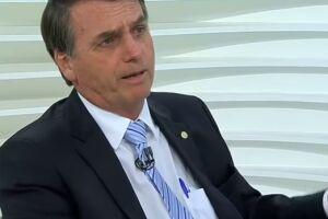 """Bolsonaro se declarou contra a ação, dizendo que a mesma era uma política para """"dividir o Brasil entre brancos e negros"""""""