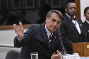 O deputado Jair Bolsonaro do PSL nega a prática de discriminação contra mulheres