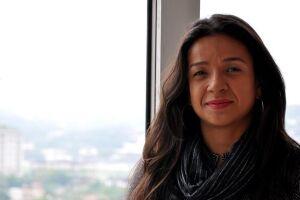 A coordenadora de recursos humanos Carolina Silva.