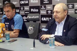 Cuca retornou o Santos após 10 anos