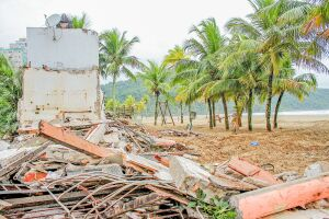 Prefeitura de Praia Grande vai derrubar outros 70 quiosques