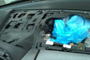 Drogas prontas para venda estavam ocultas no painel de um Honda Fit