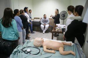 O treinamento visa assegurar atenção no primeiro minuto do nascimento, para assegurar a sobrevida dos recém-nascidos