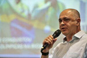 O Comitê Olímpico Brasileiro (COB) apresenta, em sua sede, os preparativos para a olimpíada de 2020