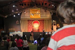 O festival acontecerá neste e no próximo final de semana na Praça 22 de Abril, na Boca da Barra