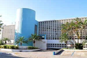 O Fórum de Guarujá foi vítima de criminosos no ano passado