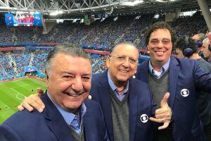 Galvão Bueno deve ser o narrado da Rede Globo na Copa do Mundo do Qatar