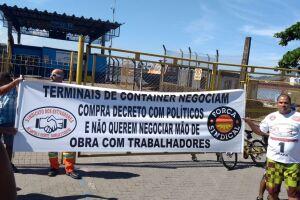 Estivadores avulsos farão greve de três dias