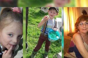 As autoridades confirmaram a morte de duas crianças e sua bisavó.