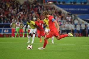 A Inglaterra venceu nos pênaltis após empate por 1 a 1 no tempo regulamentar