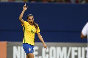 Marta ganhou por cinco vezes prêmios com a chancela Fifa, de 2006 a 2010