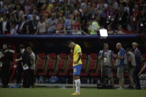 Neymar passou os três meses antes do Mundial em recuperação de uma lesão no pé direito