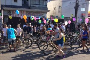 A ideia surgiu da iniciativa dos próprios ciclistas