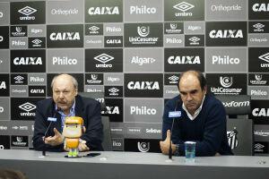 José Carlos Peres e Ricardo Gomes concederam entrevista coletiva na tarde desta segunda-feira