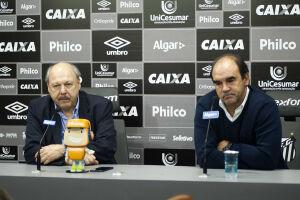 Cúpula santista analisa a chegada do novo treinador do Santos
