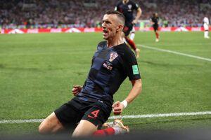 Perisic marcou o gol de empate da Croácia