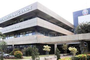 Sede da Prefeitura de Praia Grande.