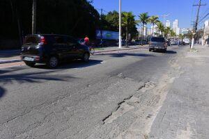 A Avenida Puglisi é a principal via de acesso à região central da Cidade