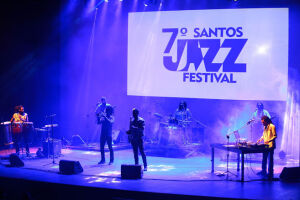 O Santos Jazz Festival foi aberto na noite de quinta-feira (26)