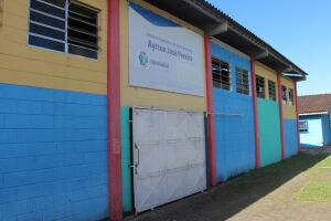 O ginásio localiza-se na Rua Profª Alice Teixeira de Carvalho Saraiva, 62, no bairro Belas Artes